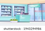 pharmacy interior landing page... | Shutterstock .eps vector #1943294986