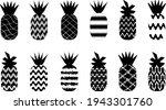 ornamental pineapples designs... | Shutterstock .eps vector #1943301760