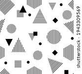 seamless geometric pattern.... | Shutterstock .eps vector #1943309569