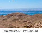 dead sea and the hills of jordan | Shutterstock . vector #194332853