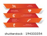 vector banners with medical and ... | Shutterstock .eps vector #194333354