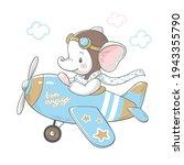 vector illustration of a cute... | Shutterstock .eps vector #1943355790