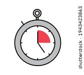 stopwatch timer speed icon...   Shutterstock .eps vector #1943423863