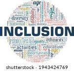 inclusion vector illustration... | Shutterstock .eps vector #1943424769