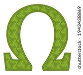 Greek Letter Omega. Omega...
