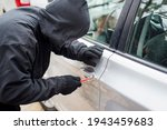 Robber Man In Black Hoodie...