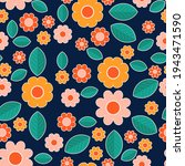 Cute Floral Seamless Pattern....