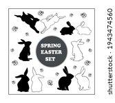 rabbit  bunny  hare easter...   Shutterstock .eps vector #1943474560