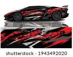 car wrap graphic racing... | Shutterstock .eps vector #1943492020