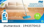 ad banner template of bleach or ... | Shutterstock .eps vector #1943570413