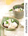 Small photo of bubur sum sum - sum sum porridge