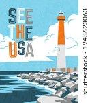Retro Travel Poster Design Of...