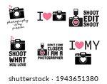 camera  love photography vector ... | Shutterstock .eps vector #1943651380