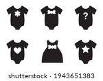 nursery cake toppers  kids... | Shutterstock .eps vector #1943651383