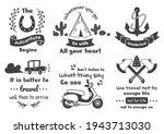 vintage illustration vector for ... | Shutterstock .eps vector #1943713030