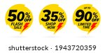 flash sale discount clearance... | Shutterstock .eps vector #1943720359