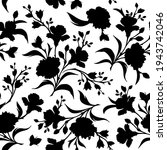 vector seamless black and white ... | Shutterstock .eps vector #1943742046