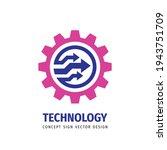 machine   vector business logo...   Shutterstock .eps vector #1943751709