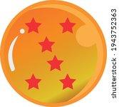 dragon ball series  vector of... | Shutterstock .eps vector #1943752363