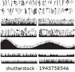 vector  isolated  black... | Shutterstock .eps vector #1943758546