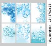 scientific dna research cover... | Shutterstock .eps vector #1943763613