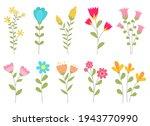 flower vector design...   Shutterstock .eps vector #1943770990
