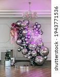 Decor With Balloons Of Chrome ...