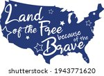 4th of july svg vector... | Shutterstock .eps vector #1943771620