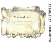 vector illustration of ancient... | Shutterstock .eps vector #1943789536