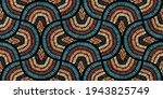 seamless wavy pattern. seigaiha ... | Shutterstock .eps vector #1943825749