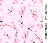 Seamless Pattern With Cherry...