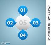 vector list of options.   Shutterstock .eps vector #194383424