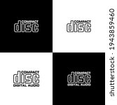Compact Disc Vector Sign....