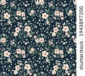 vintage floral background....   Shutterstock .eps vector #1943897200