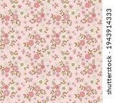 floral pattern. pretty flowers... | Shutterstock .eps vector #1943914333