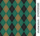 argyle pattern seamless vector... | Shutterstock .eps vector #1943920180