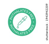 no phthalates sign. phthalates...   Shutterstock .eps vector #1943942209