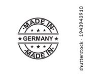 made in germany stamp logo icon ... | Shutterstock .eps vector #1943943910