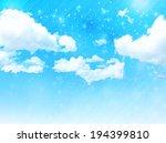 sky clouds landscape | Shutterstock .eps vector #194399810