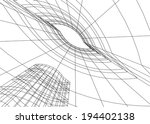 vector architecture background | Shutterstock .eps vector #194402138