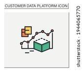 predictive modeling color icon. ...   Shutterstock .eps vector #1944065770