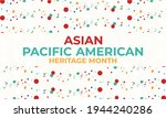 may is asian pacific american... | Shutterstock .eps vector #1944240286