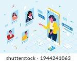 modern isometric illustration...   Shutterstock .eps vector #1944241063