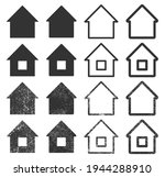 home vector icon. house  real... | Shutterstock .eps vector #1944288910