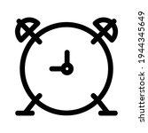 alarm icon or logo isolated...