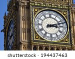 The Clock Face Of Big Ben In...
