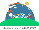 dream to return to childhood....   Shutterstock .eps vector #1944399979