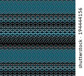 zigzag and striped patterned... | Shutterstock . vector #194444156