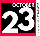 October 23 . Modern Daily...