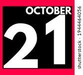October 21 . Modern Daily...